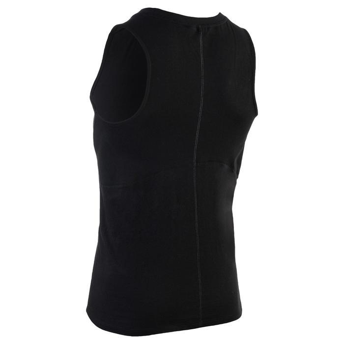 Débardeur 900 slim Gym Stretching & Pilates homme noir - 1331990