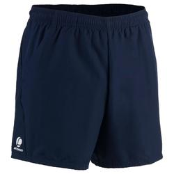 Tennisshort Dry 100 heren marineblauw