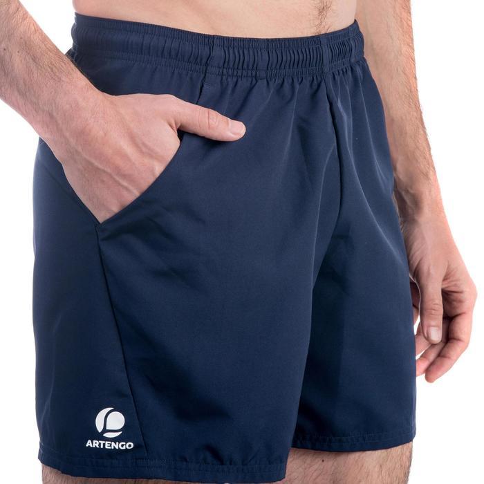 Tennisshort Dry 100 heren marineblauw