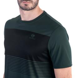 T-shirt tennis heren soft 100 kaki