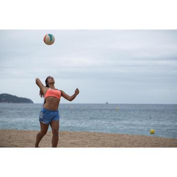 Ballon de beach-volley BV900 FIVB blanc vert et rouge - 1332055