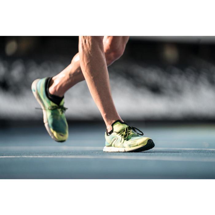Walkingschuhe Athletisches Gehen RW 900 gelb/blau