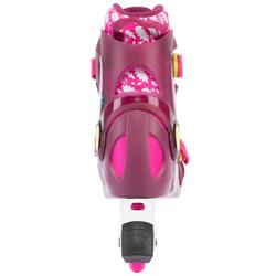 roller enfant PLAY5 tonic rose