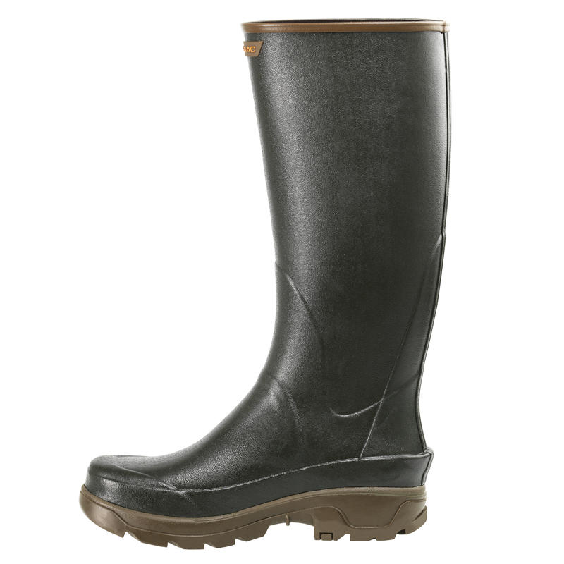 HUNTING WELLIES RENFORT 500 GREEN