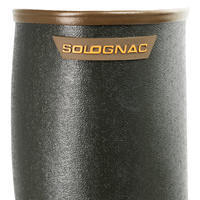 Botas impermeables Solognac Renfort 500 Hombre Reforzada Verde