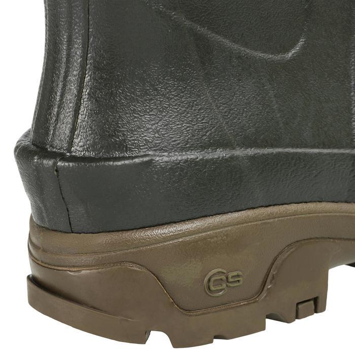 Bottes chasse Renfort 500 vert - 1332160