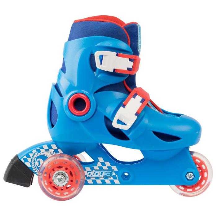 Skeelers voor kinderen Play 3 blauw rood