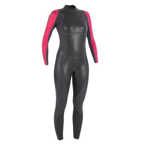Combinaison de natation n opr ne nage en eau libre ows100 for Protege oreille piscine decathlon