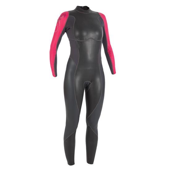 Dames zwempak OWSwim in neopreen van 1/0 mm voor gematigd warm open water - 133219