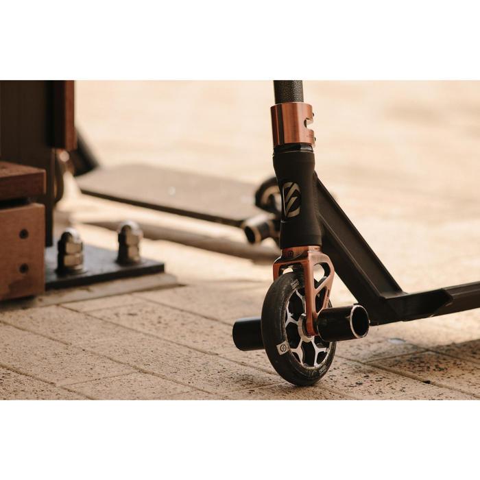 Stunt-Scooter-Rolle 120mm schwarz/chrom