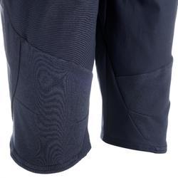 女款郊野健行剪裁長褲NH500 Fresh-軍藍色