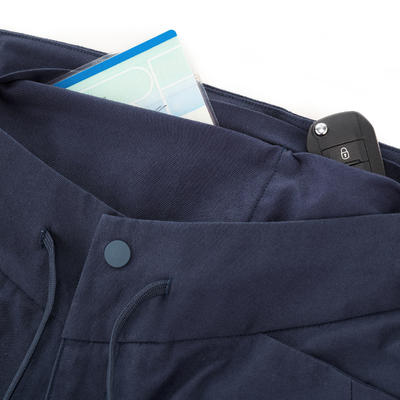 بنطلون جمباز NH500 للمشي لمسافات طويلة- أزرق داكن