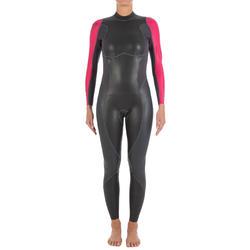 Dames zwempak OWSwim in neopreen van 1/0 mm voor gematigd warm open water - 133221