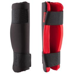 ESPINILLERAS 100 OUTSHOCK PARA KICK BOXING, FULL CONTACT, TAEKWONDO Y MUAY THAI