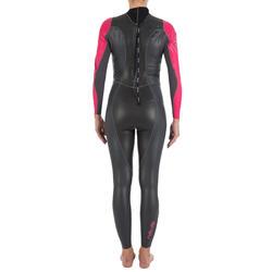 Dames zwempak OWSwim in neopreen van 1/0 mm voor gematigd warm open water - 133222