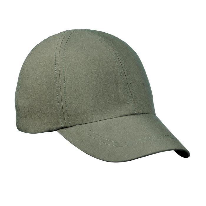 Gorra de trekking en montaña TREK 100 verde