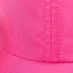Gorra de trekking en montaña TREK 100 rosa