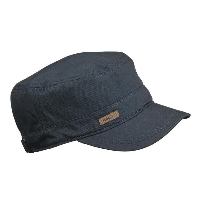 旅行健行帽-TRAVEL 500-深灰色