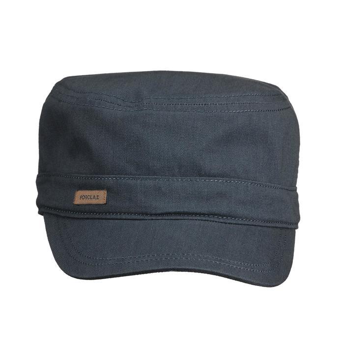Travel trekking cap - TRAVEL 500 - Dark grey