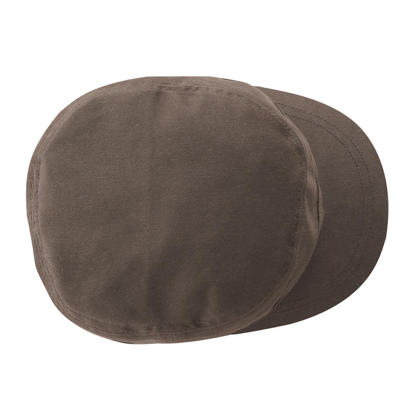 หมวกแก๊ปสำหรับการท่องเที่ยวแบบเทรคกิ้งรุ่น Travel 500 (สีน้ำตาล)