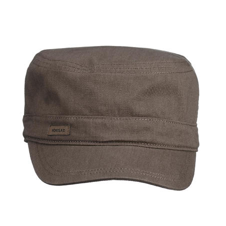Gorra Senderismo y Trekking Forclaz  TRAVEL500 Adulto Marrón