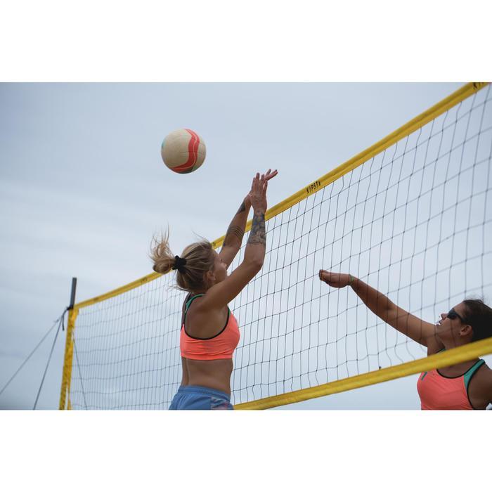 Ballon de beach-volley BV900 FIVB blanc vert et rouge - 1332305