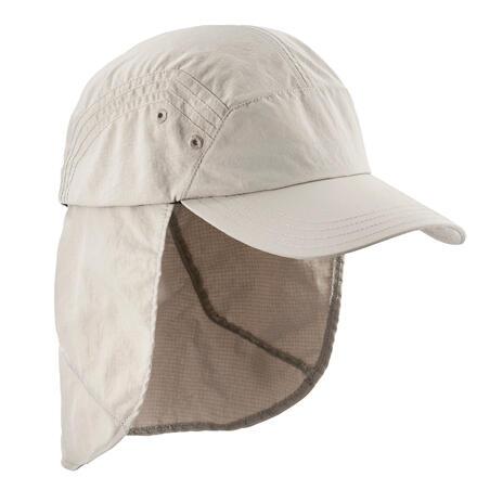 Trek 900 Mountain Trekking Anti-UV Cap - Beige