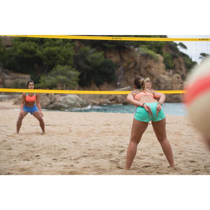 Ballon de beach-volley BV900 FIVB blanc vert et rouge - 1332337