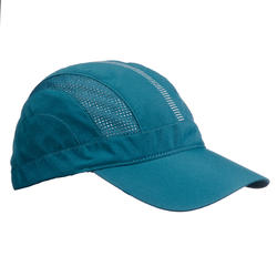 Ventilated Mountain Trekking Cap - TREK 500 - Petrol blue