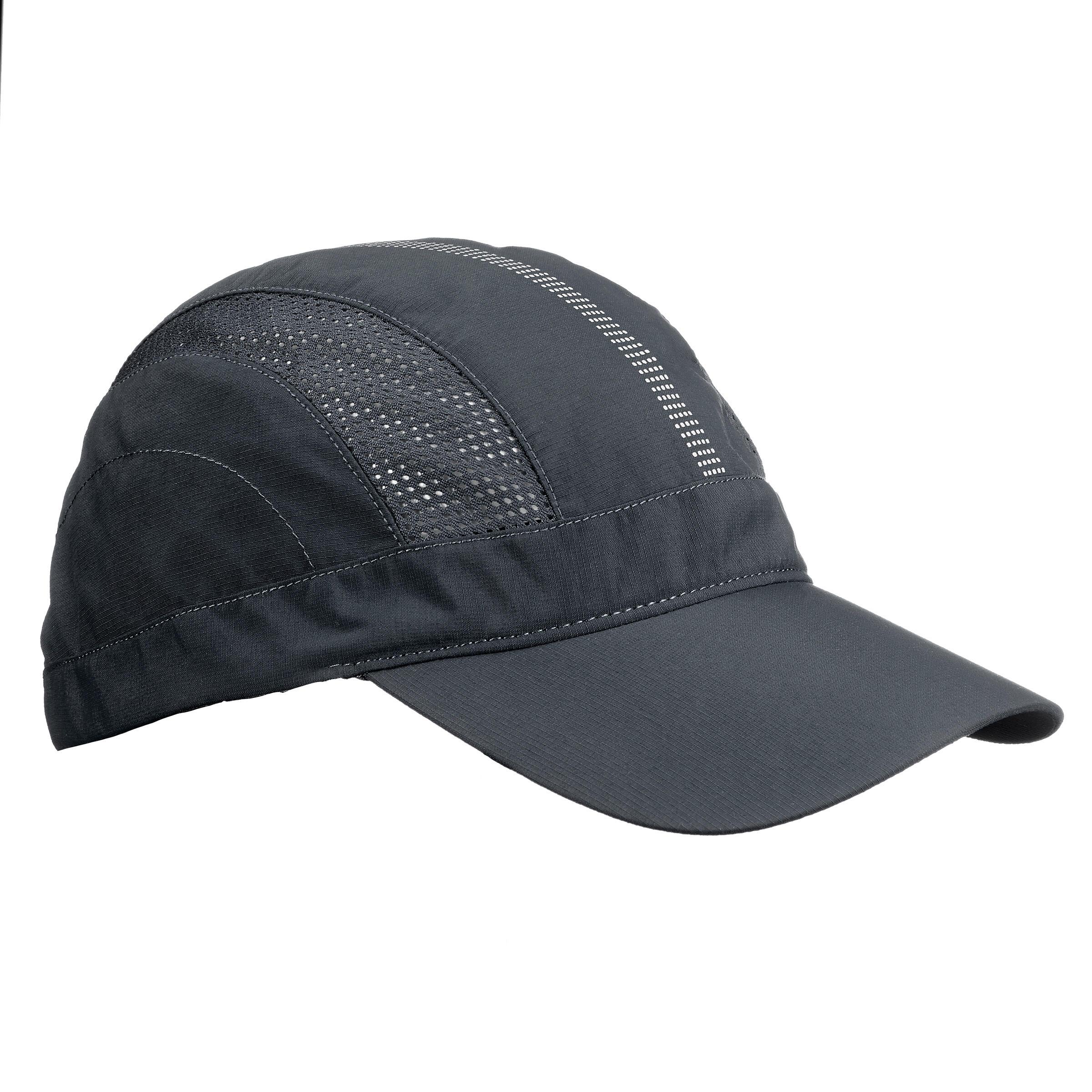 Schirmmütze Cap Trek 500 belüftet dunkelgrau
