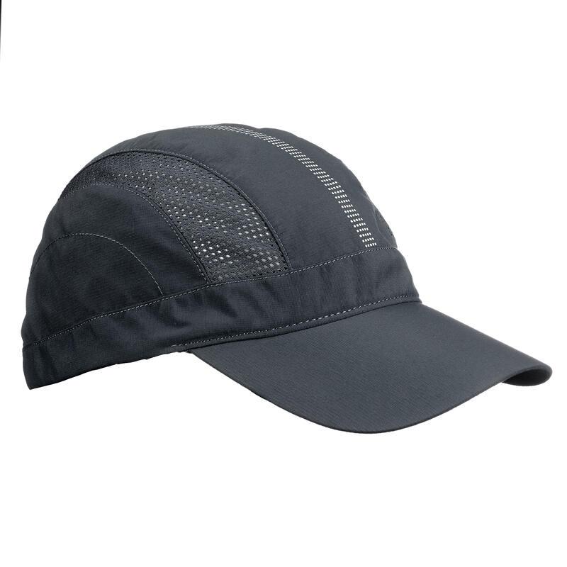 Cappellino montagna TREK500 grigio scuro