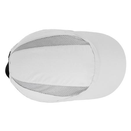 Casquette de randonnée montagne ventilée - RANDO 500 gris clair
