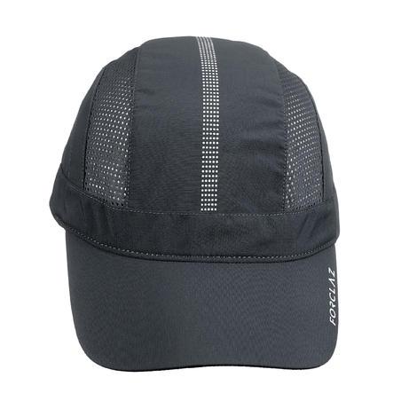 Casquette de randonnée montagne ventilée - RANDO 500 gris foncé