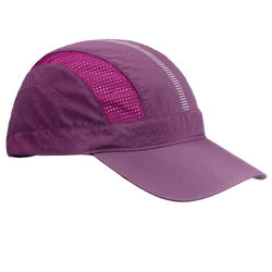 Ventilated Mountain Trekking Cap - TREK 500 - Purple