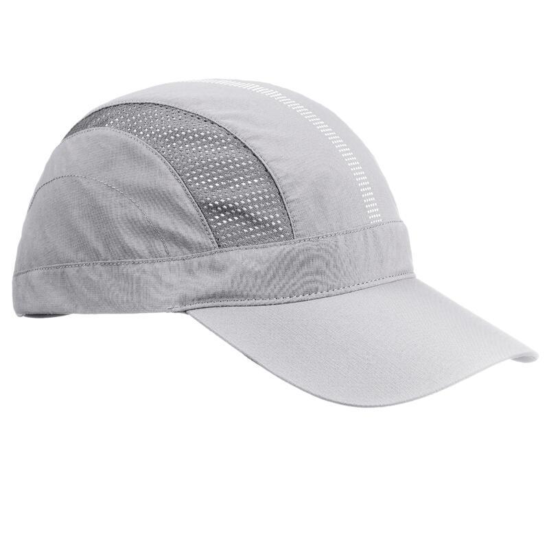 Cappellino montagna TREK500 grigio chiaro