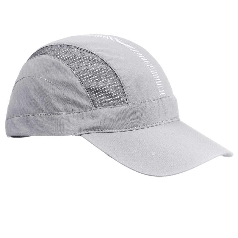 HAT, CAP, BUFF, BEANIE HIKING/TREK - Cap Trek 500 - Light grey