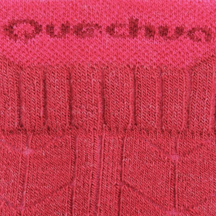 Sokken voor wandelen in de sneeuw volwassenen SH900 warm roze