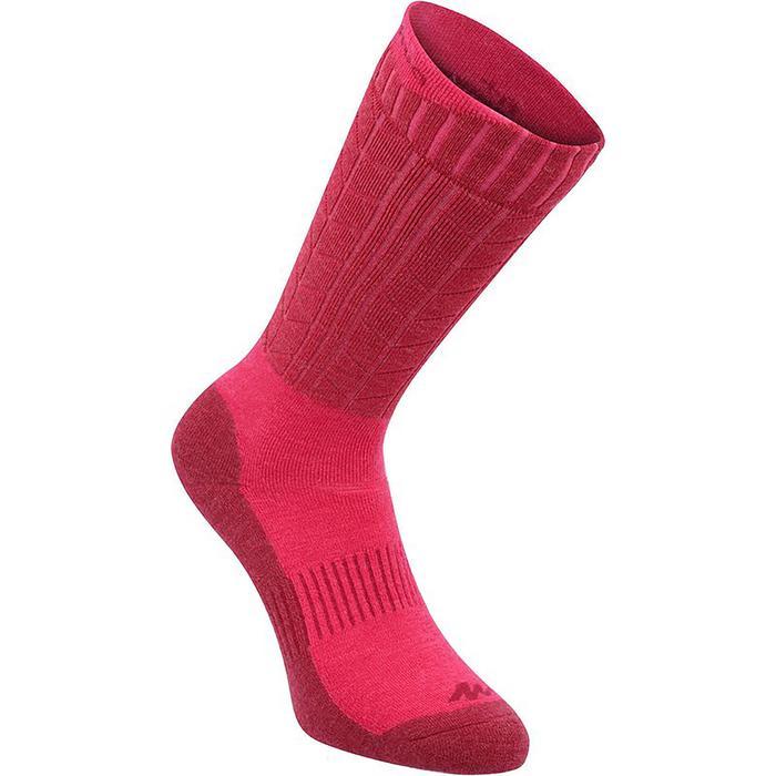 Sokken voor wandelen in de sneeuw volwassenen SH900 warm - 1332402