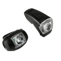 VIOO City 300 USB Bike LED Light Set - Black