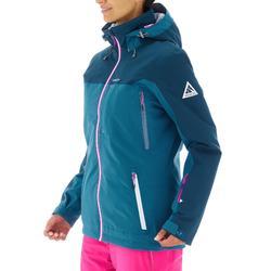 Skijacke Free 500 Damen blau