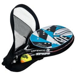 Set palas de beach tennis BTR 100