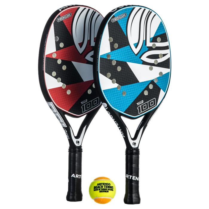 set raquettes Beach Tennis BTR 100 - 1332455