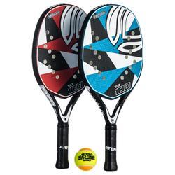 Set raquetas de tenis playa BTR 100