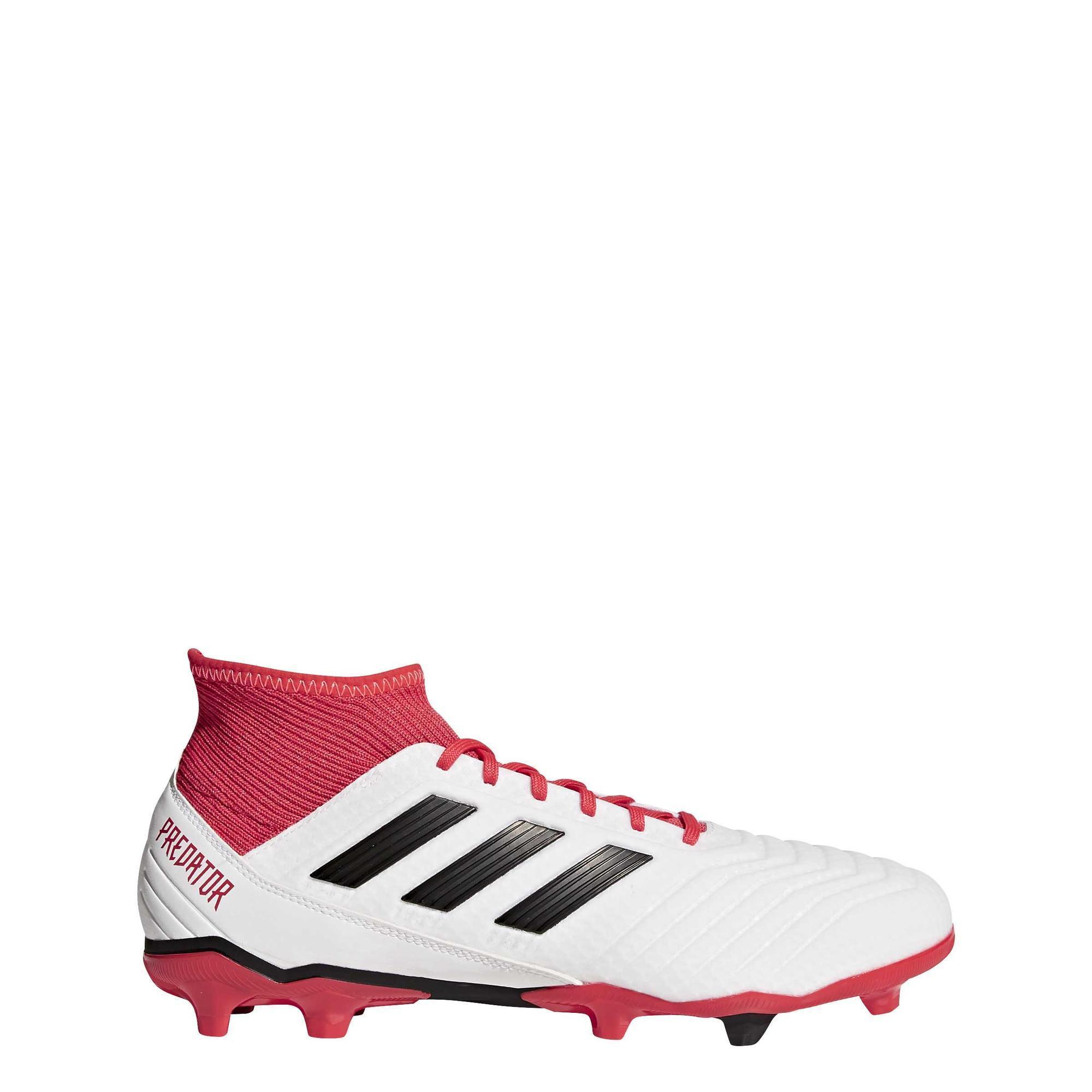 Botas de fútbol adultos Predator 18.3 FG Adidas  5fc258585aa62