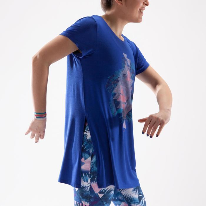 Tunique de danse, longue et ample, femme bleue - 1332553