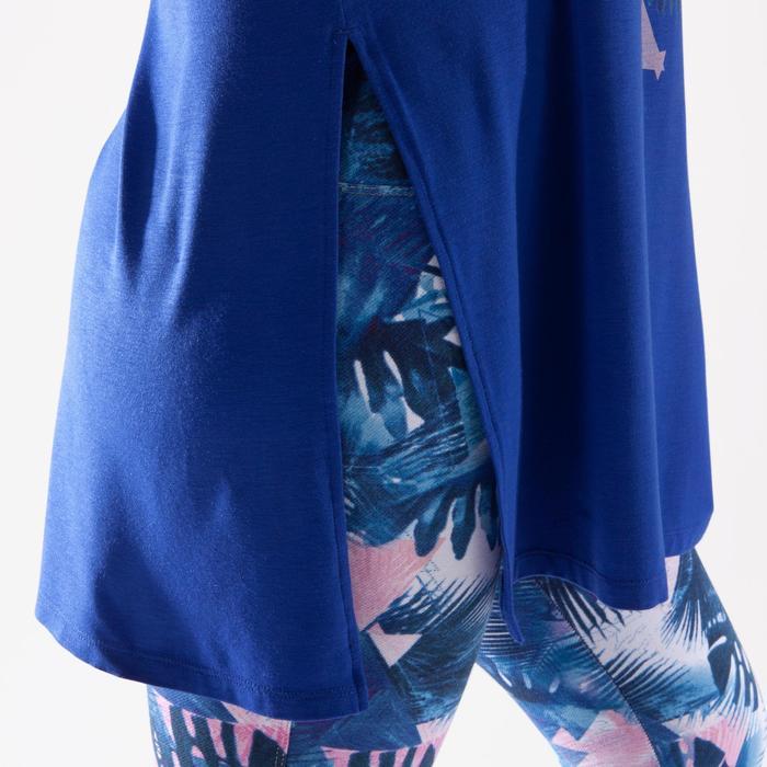 Tunique de danse, longue et ample, femme bleue - 1332560
