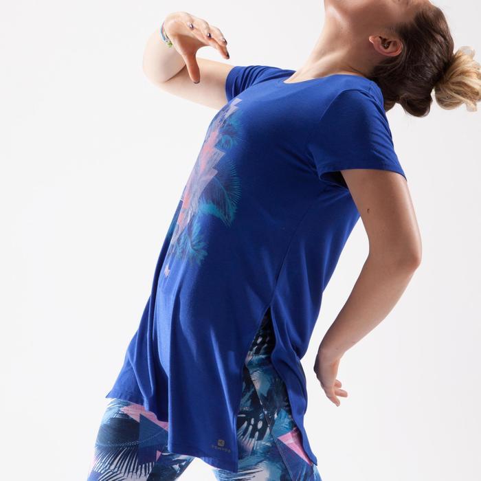 Tunique de danse, longue et ample, femme bleue - 1332562