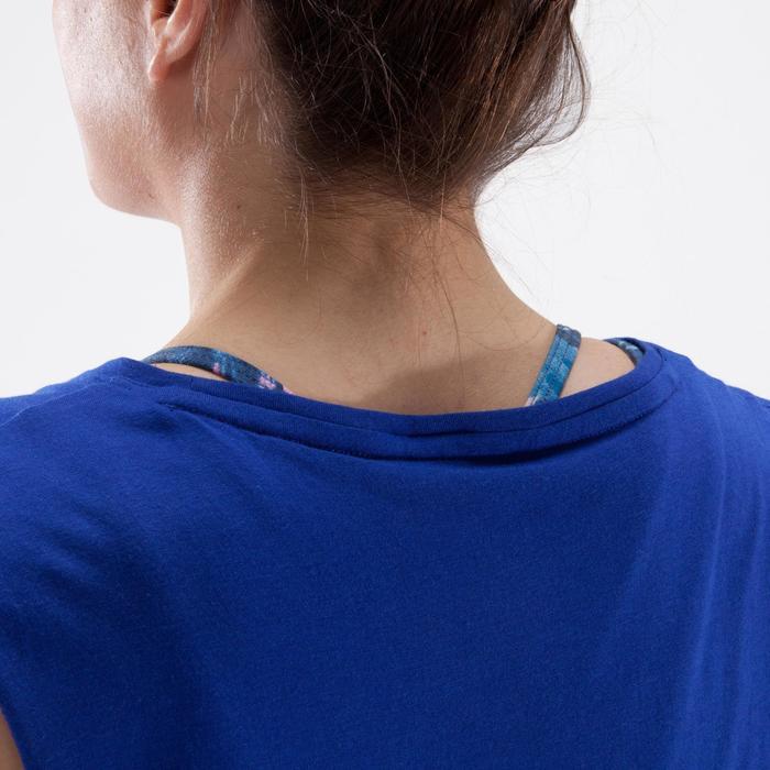 Tanz-Top Damen blau