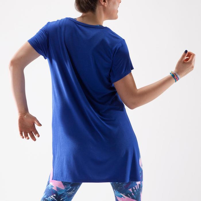 Tunique de danse, longue et ample, femme bleue - 1332591