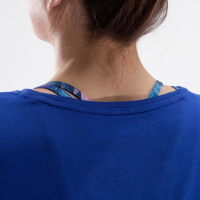Tunique de danse, longue et ample, femme bleue - 1332604